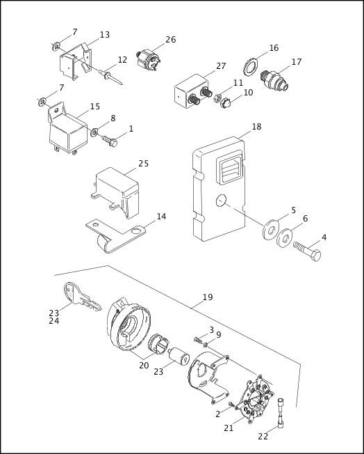 Wiring Database 2020: 29 Harley Davidson Starter Diagram