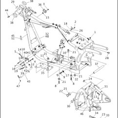 Harley Softail Frame Diagram Contactor Wiring With Timer Schematic Diagrams Lose Swingarm 99455 94b 486284 En Us 1993 1994 Models