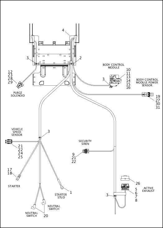 Harley Davidson Neutral Switch Wiring. Harley Davidson