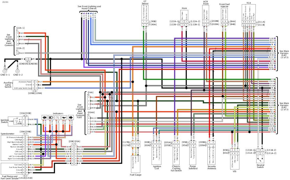 2018 Street Glide Speaker Wire Colors, 2016 Harley Davidson Radio Wiring Diagram