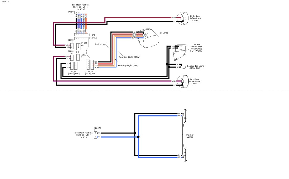 2006 Street Glide Tail Light Wiring Diagram dyna wiring