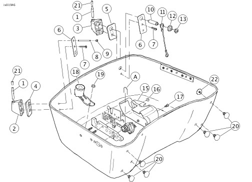 Harley Tour Pack Wiring Harness - Auto Electrical Wiring Diagram on