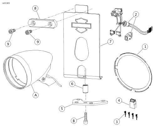 4 Pin Wiring Harness