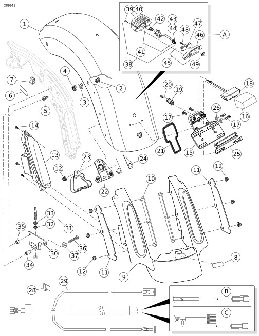 Harley Touring Rear Tail Light Wiring Diagram. Harley