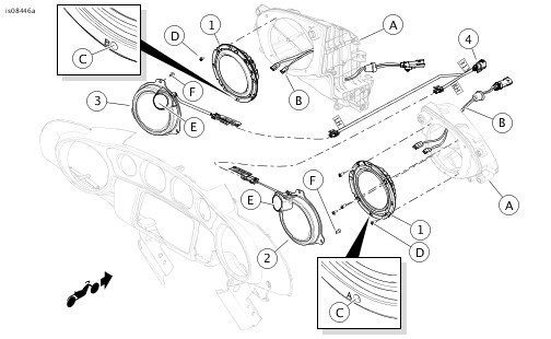 Harley Rear Speaker Wiring Harness. Wiring. Wiring Diagram