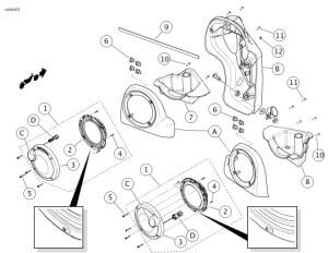 Harley Davidson Fairing Diagram  Engine Diagram And Wiring Diagram