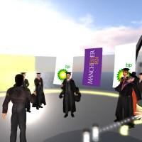Virtual World Graduation Service