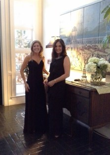 2017 Charity Ball Co-Chairs, Missy Hasty and Martha Flowers
