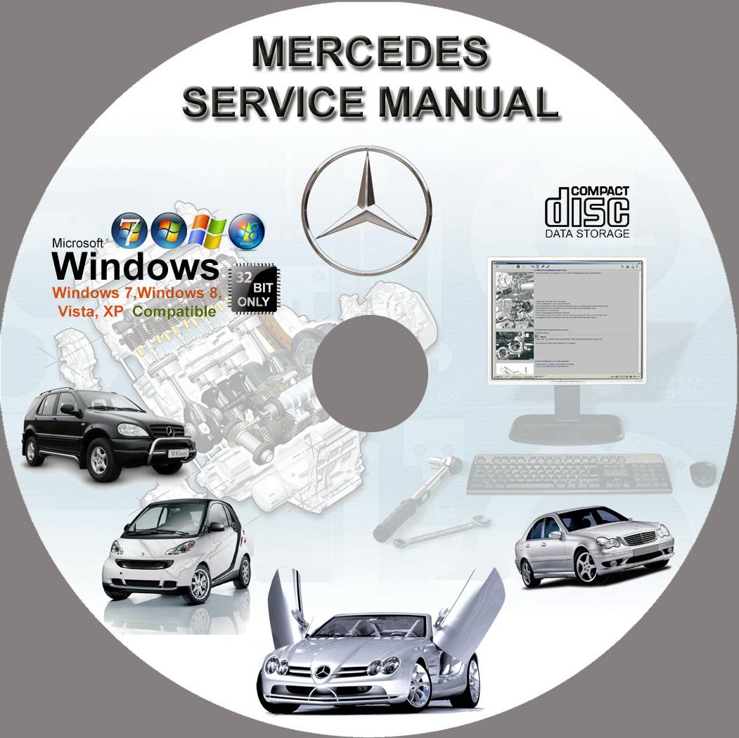 medium resolution of mercedes service repair manual