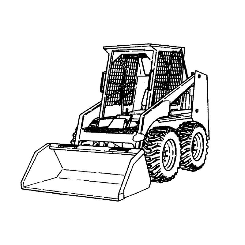 Bobcat 444 500 600 610 Series Service Manual