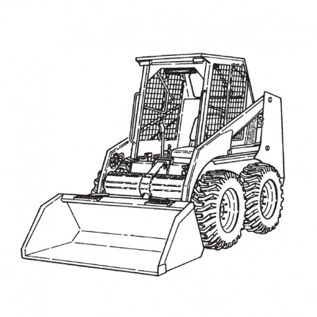 Bobcat 853 Series Service Manual