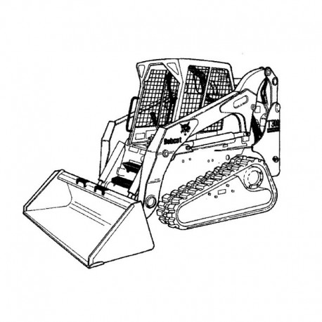 Bobcat T300 Series Service Manual