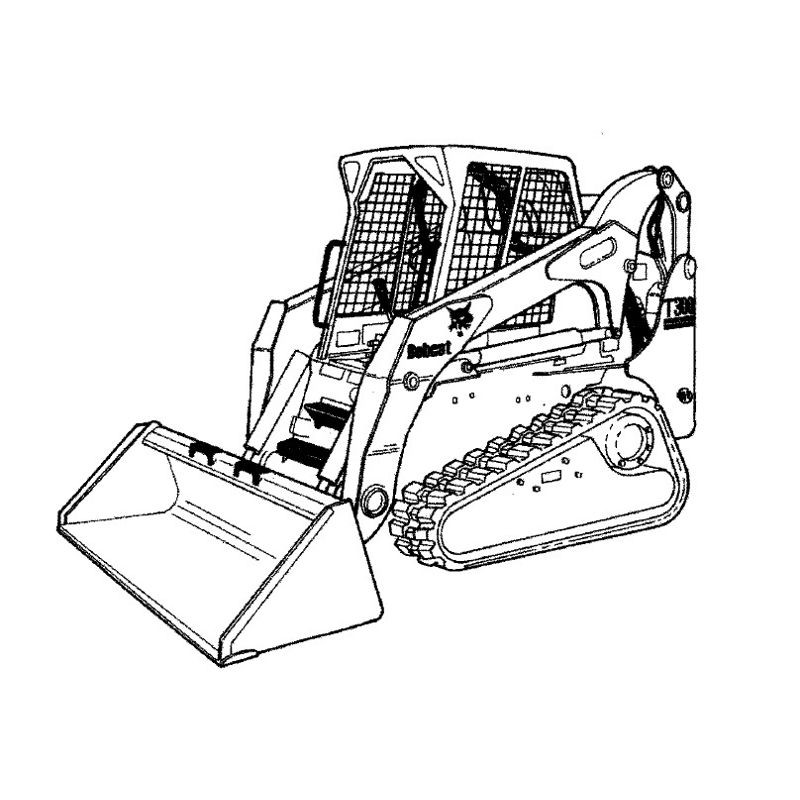 Bobcat T300 Series Service Manual
