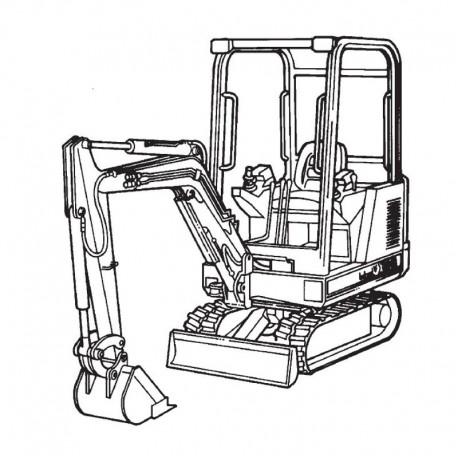 Bobcat Excavator (320 325 331 Series) Service and Owners