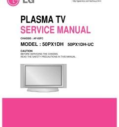 lg 50px960 50px960 za plasma tv service manual 2019  [ 951 x 1347 Pixel ]