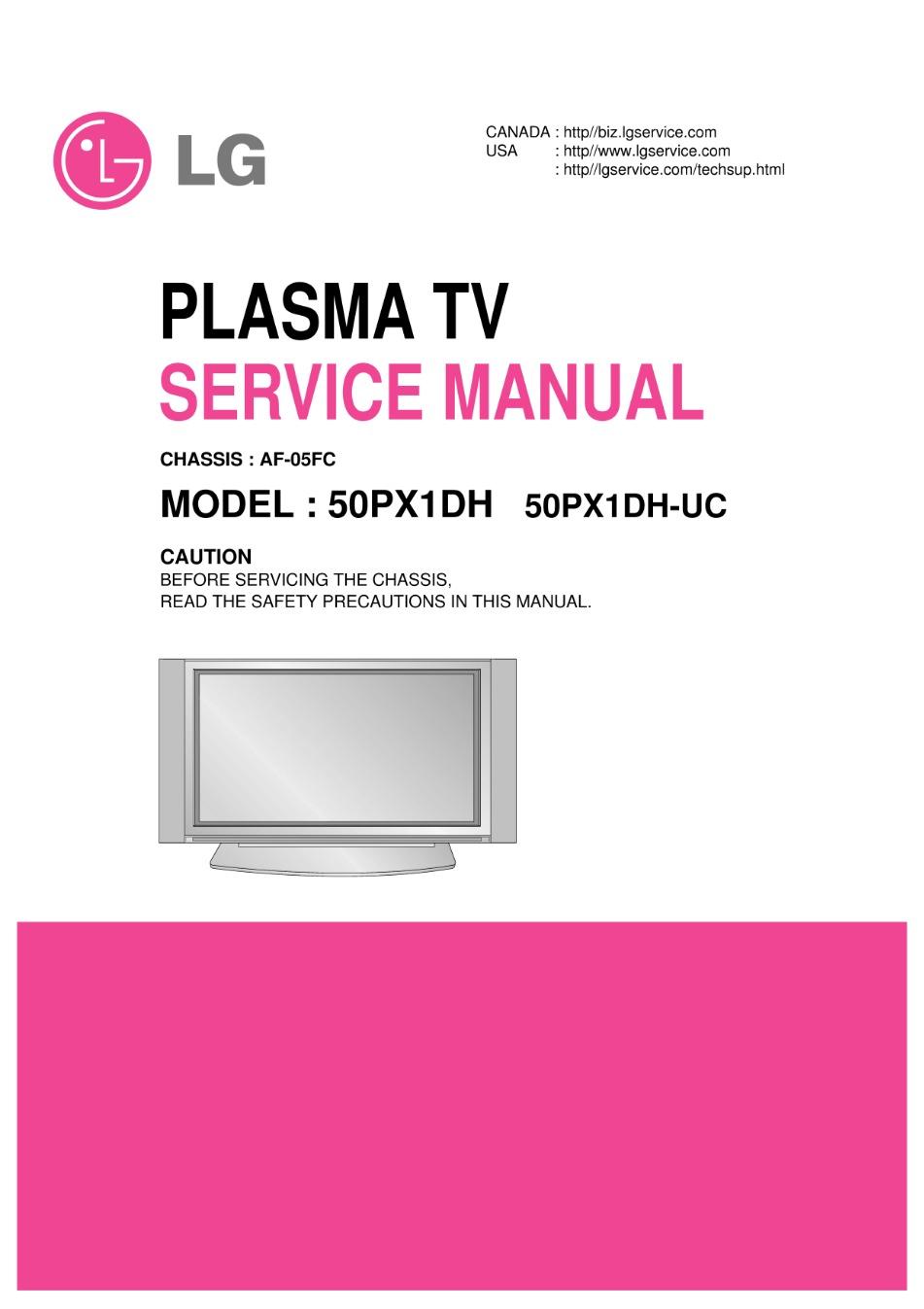 medium resolution of lg 50px960 50px960 za plasma tv service manual 2019
