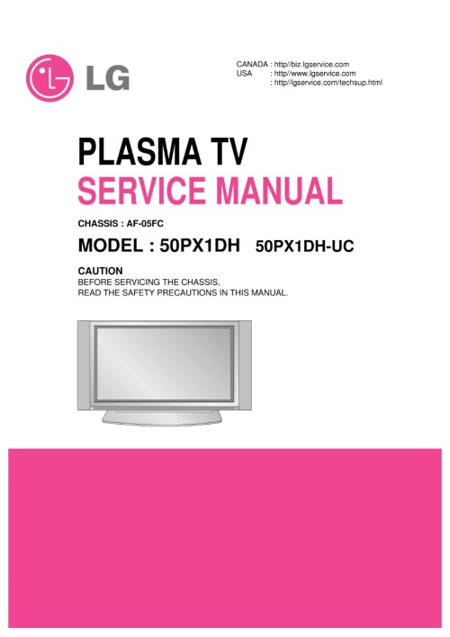 small resolution of lg 50px960 50px960 za plasma tv service manual 2019