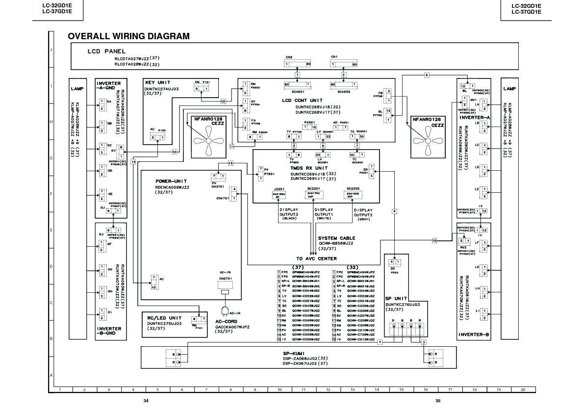 Sharp Lc 32gd1e Servn20 Service Manual