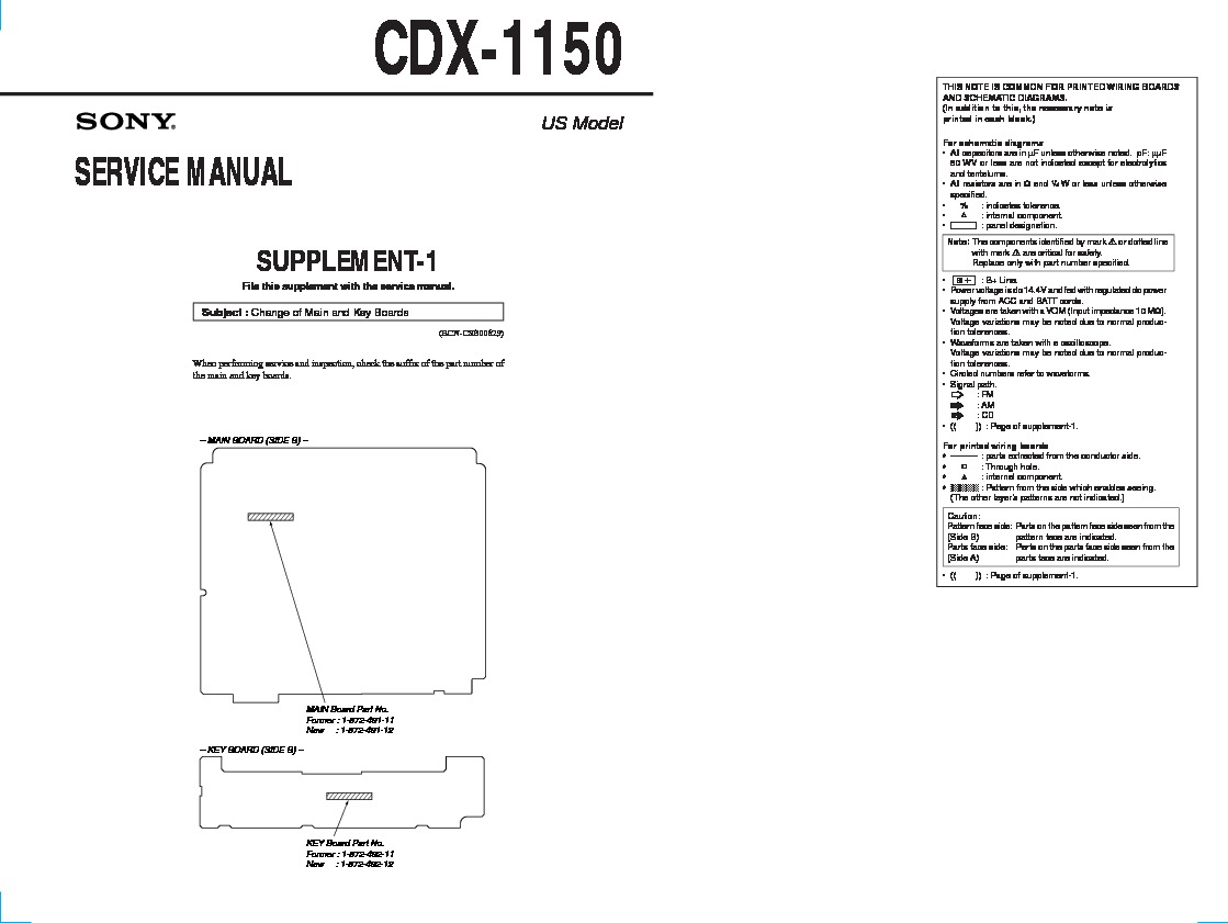 Sony Cdx Gt565up Manual 1150 Wiring Diagram