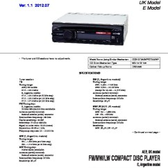 Sony Cdx Gt25 Wiring Diagram How To Draw Ishikawa Car Audio Service Manuals Page 11 Gt26 Manual