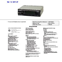 Sony Cdx Gt65uiw Wiring Diagram 1984 Toyota Pickup Car Audio Service Manuals Page 12 Manual