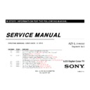 Sony KDL-32EX700, KDL-40EX700, KDL-46EX700, KDL-52EX700