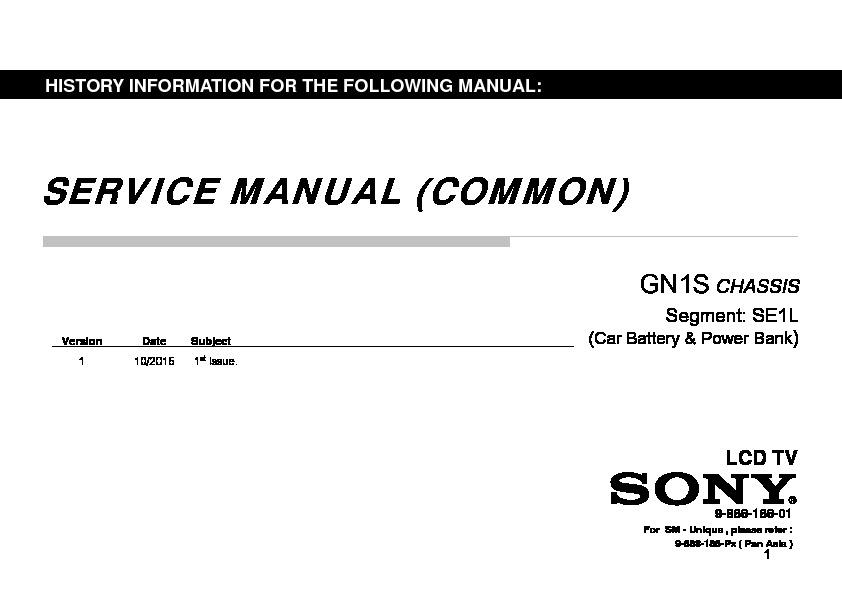 Sony KDL-32R324D, KDL-40R354D, KLV-32R326D, KLV-40R356D