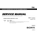 Sony XBR-55X900C, XBR-55X905C, XBR-55X907C, XBR-65X900C