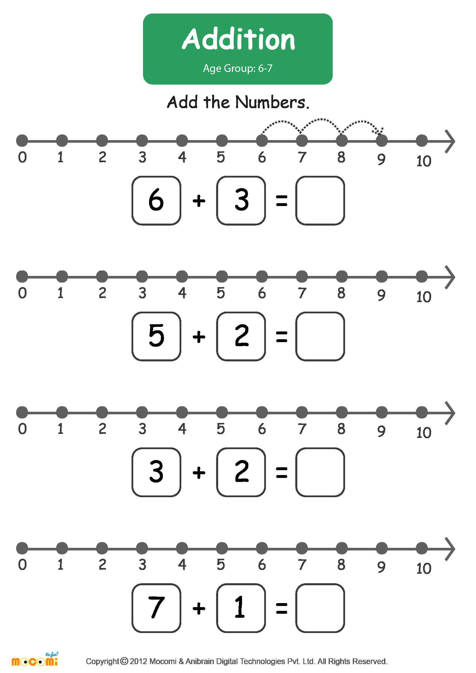 Worksheet For Kindergarten Mathematics Servicenumber