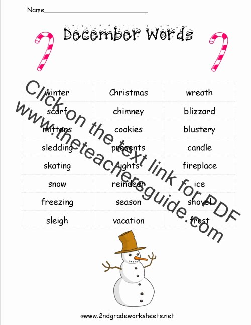 small resolution of Christmas Reading Worksheets 2nd Grade – Servicenumber.org