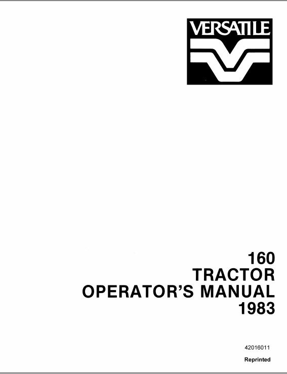 New Holland T4.55 T4.65 T4.75 Tractor Operator's Manual