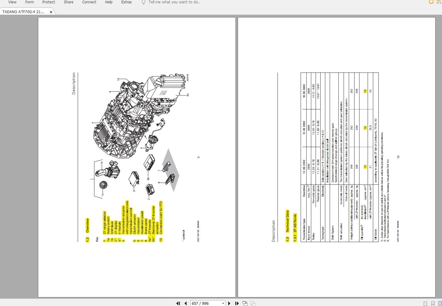 Tadano Mobile Crane ATF 70G-4 Load Chart & Operating