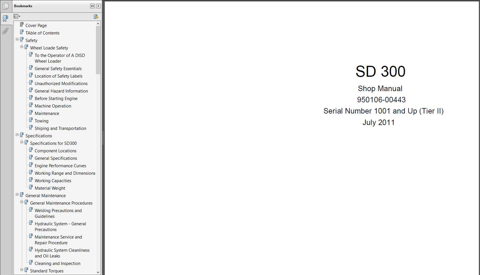 Doosan All Model Full Service Manual DVD 26,29GB PDF