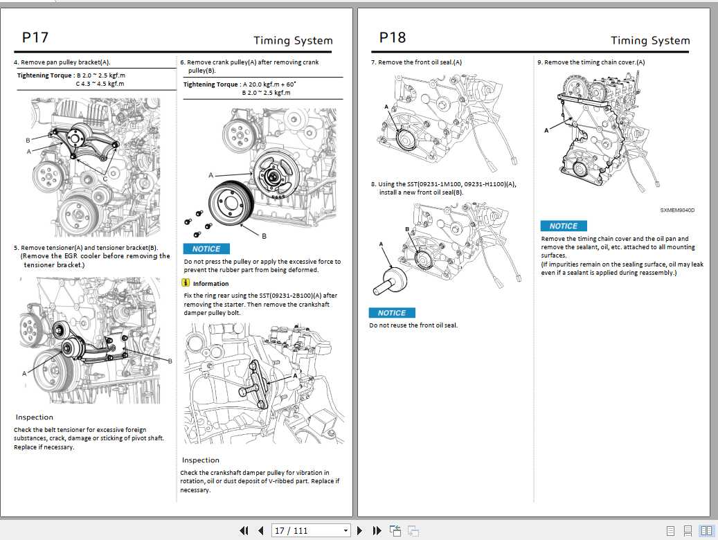 Hyundai D4HB Stage V Engine Mechanical Service Manual