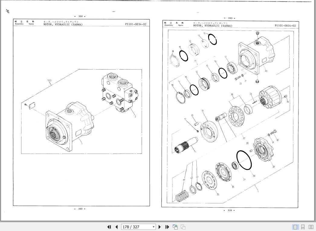 Tadano Truck Crane TL-300M-2_P-02 Parts Catalog_EN_JP