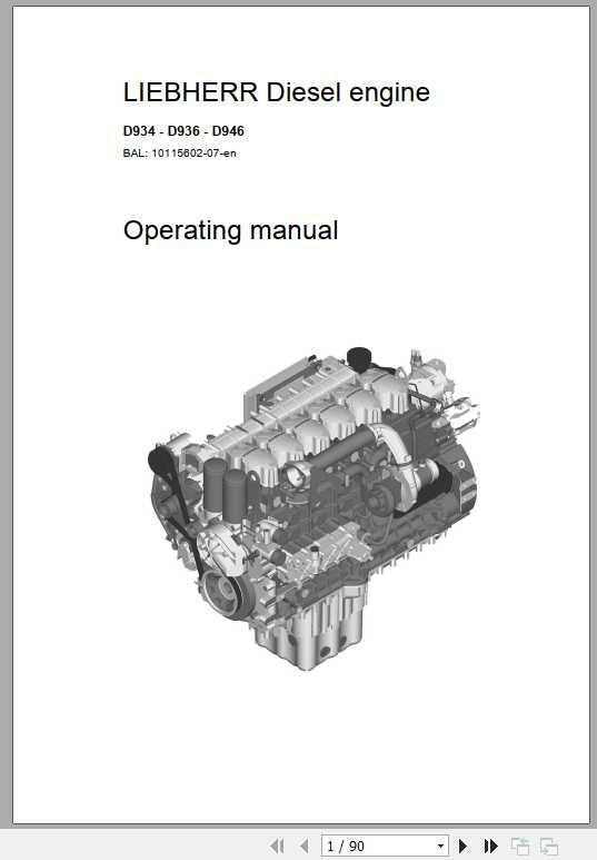 Liebherr Hydraulic Excavator Repair Manual Archives