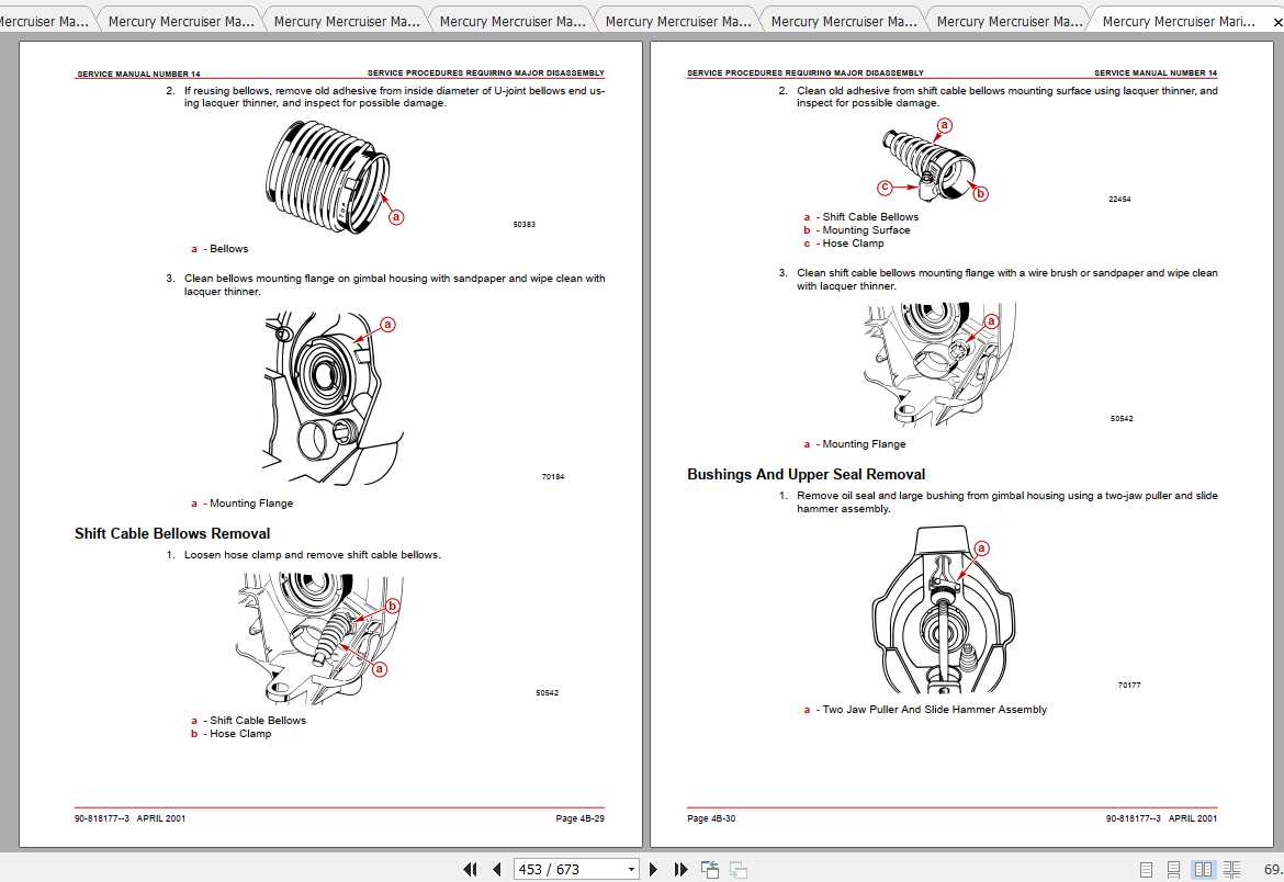 Mercury Mercruiser Marine Engine PDF Service Manual