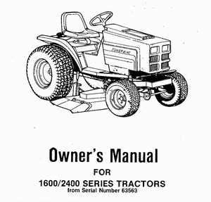 Owners /Service Manuals