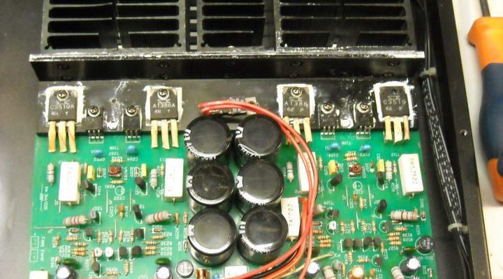 Επισκευή amplifier