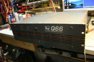 Επισκευή Ενισχυτή Electrovoice Q66 Repair