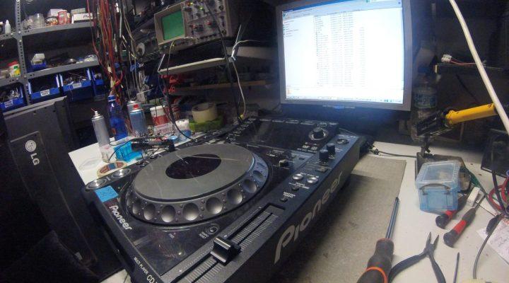 Επισκευή pioneer cdj2000 nxs CD Mp3 Player
