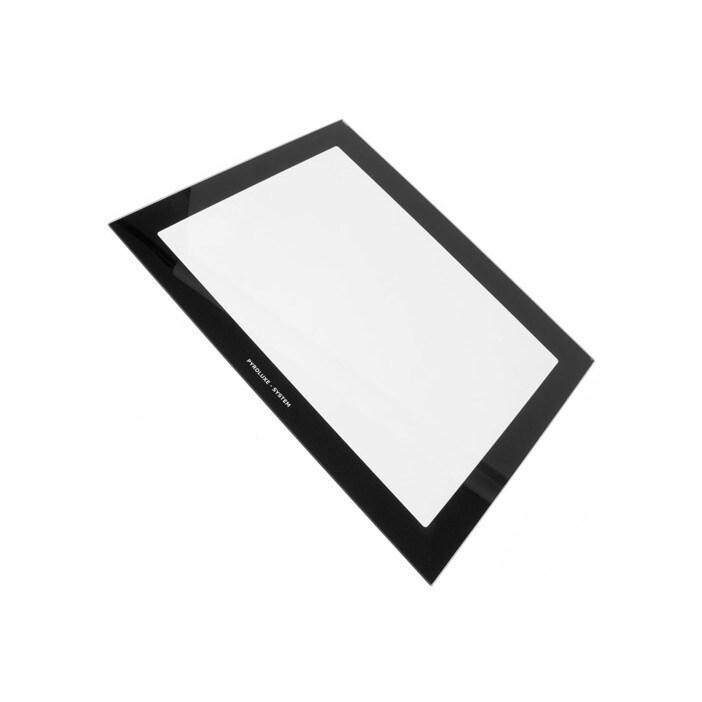 vitre interieure pour porte de four 504 x 392 mm