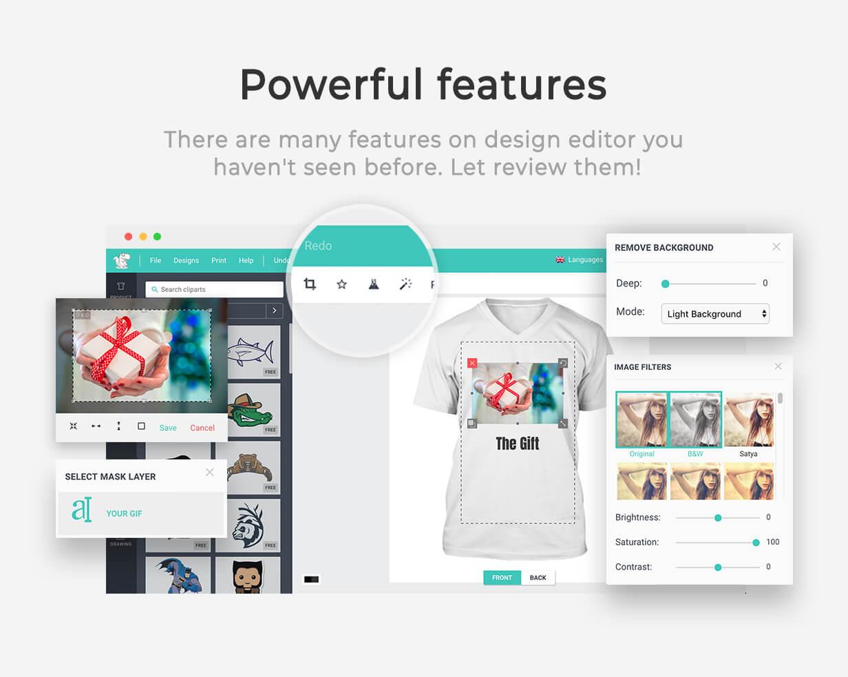 Product Designer for WooCommerce WordPress | Lumise - 17