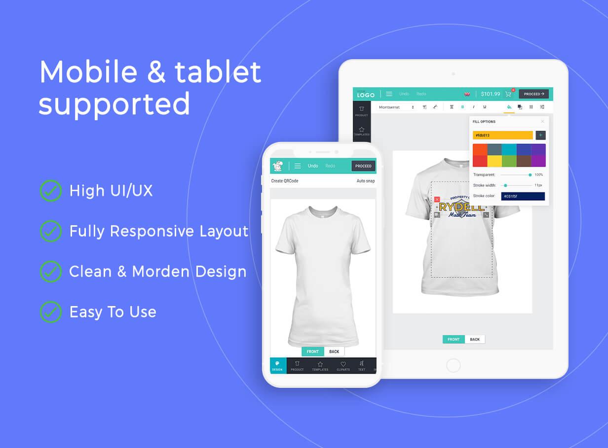 Product Designer for WooCommerce WordPress | Lumise - 21