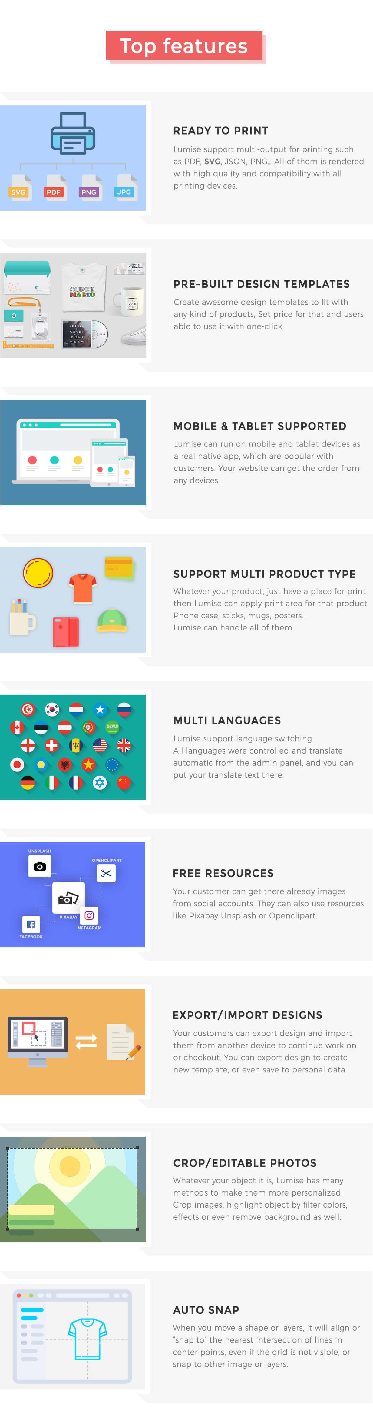 Product Designer for WooCommerce WordPress | Lumise - 23