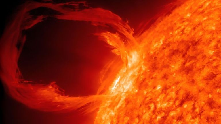 The next solar storm will completely shut down the internet