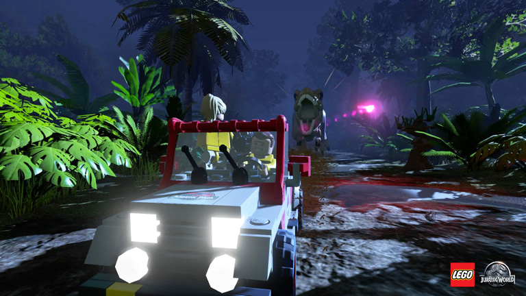 Play LEGO Jurassic World on SHIELD with GeForce NOW