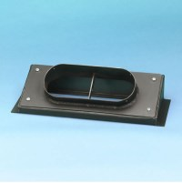 Stove Pipe: Rectangle To Round Stove Pipe Adapter