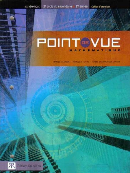 Point De Vue De L Auteur : point, auteur, Commandez, Point, Mathématique,, Année, Cycle,, Cahier, D'exercices, Service, Scolaire, SESCO