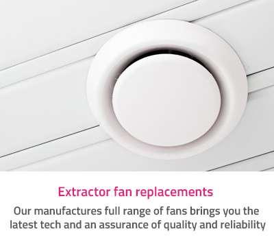 ExtFanRep - One off electrical repair